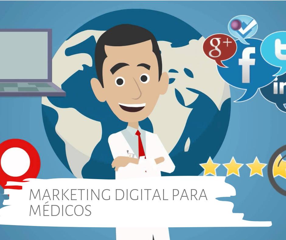 Marketing digital para médicos. Aprenda sobre Redes Sociais, Facebook, Instagram, Google e outras mídias digitais.